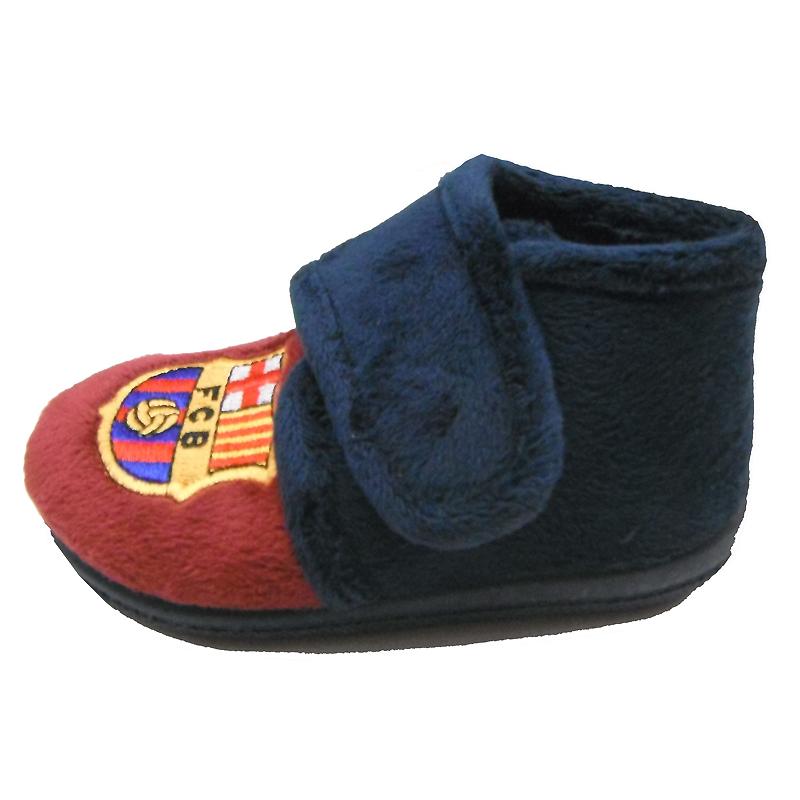 Zapatillas de estar por casa para ni o del f c barcelona - Zapatillas estar por casa nino ...