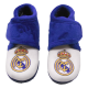 Real Madrid Kids Slippers at home.