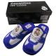 Zapatillas de estar por casa del Real Madrid.