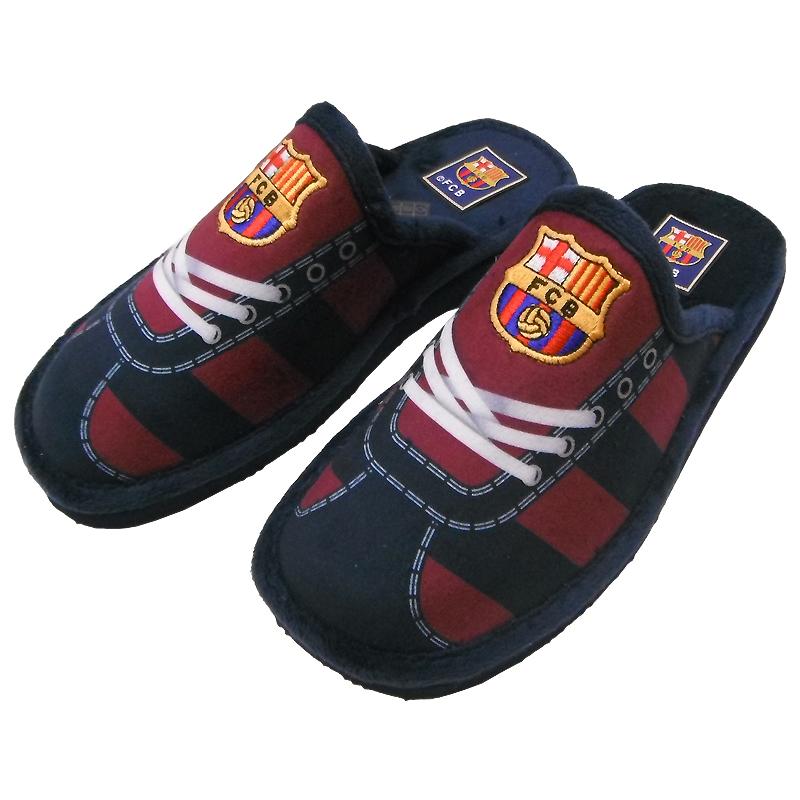 FC Barcelone - Zapatillas del Barça FC para hombre, colección oficial, talla de adulto, Azul (azul), 44