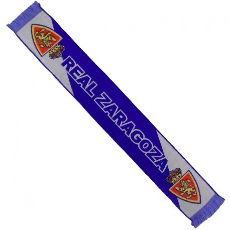 Bufanda telar del Real Zaragoza.