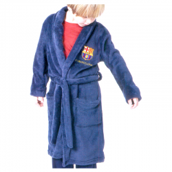 F.C.Barcelona Kids dressing gown.