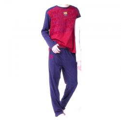 F.C.Barcelona Adult Pyjamas Long Sleeve.