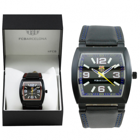 F.C.Barcelona Adult wristwatch.