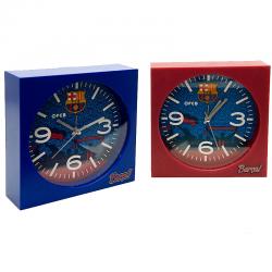 Reloj despertador cuadrado del F.C.Barcelona.