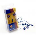Auriculares de botón del F.C.Barcelona.