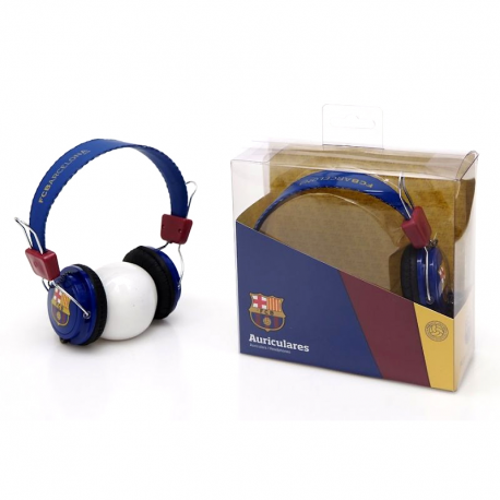 F.C.Barcelona Headphones.