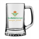 Jarra de cerveza mediana del Real Betis.