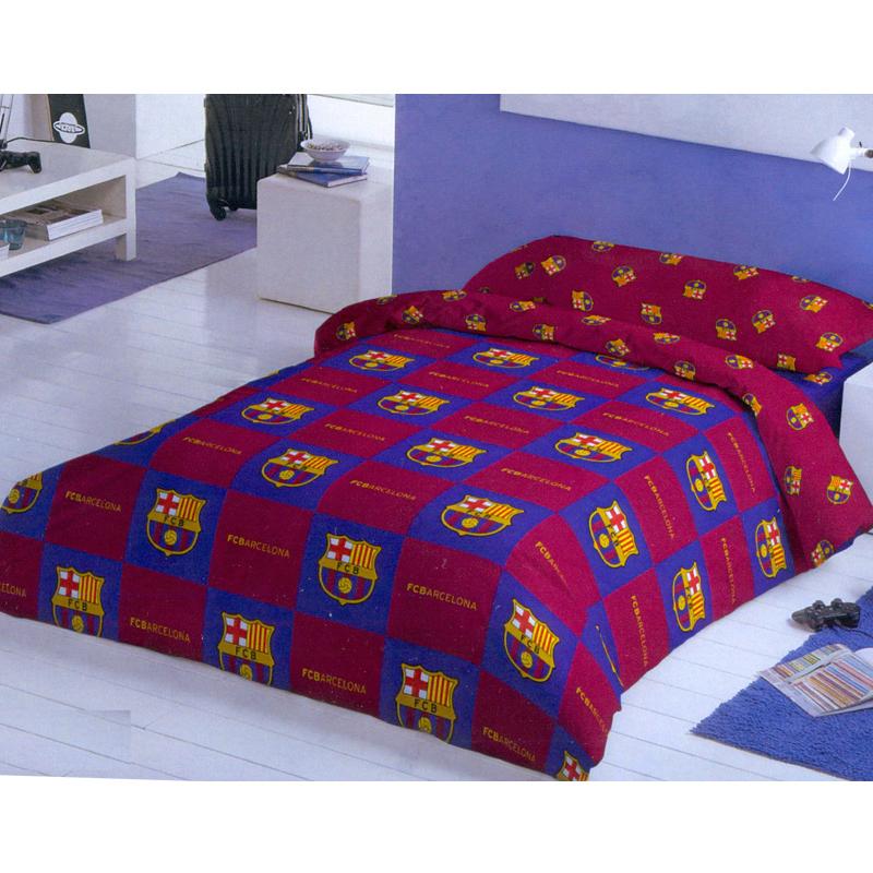 drap housse f c barcelona 90 cm. Black Bedroom Furniture Sets. Home Design Ideas