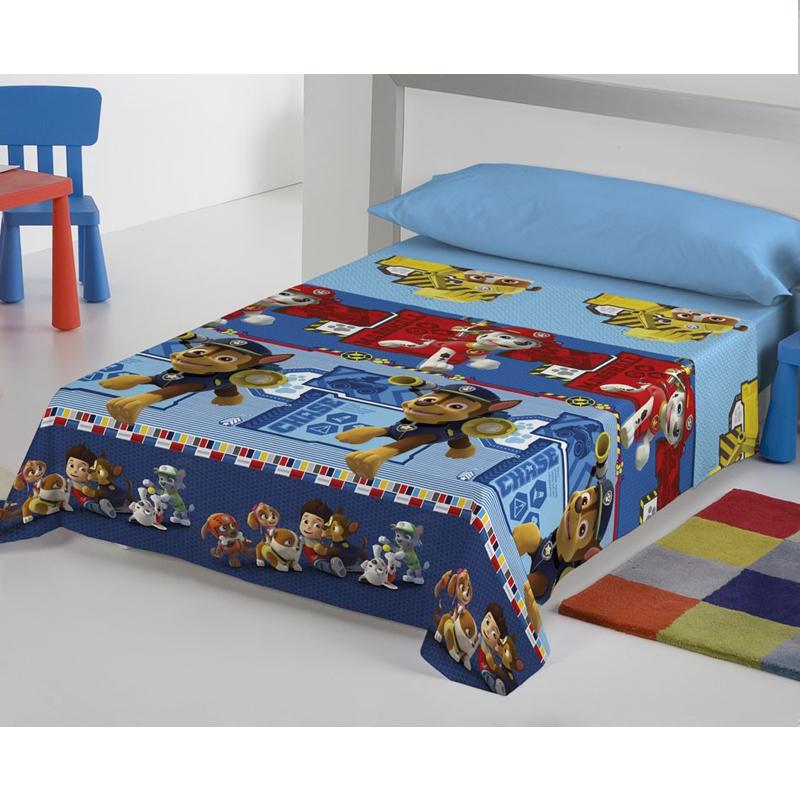 drap plat patrouille canine 90 cm forofos. Black Bedroom Furniture Sets. Home Design Ideas