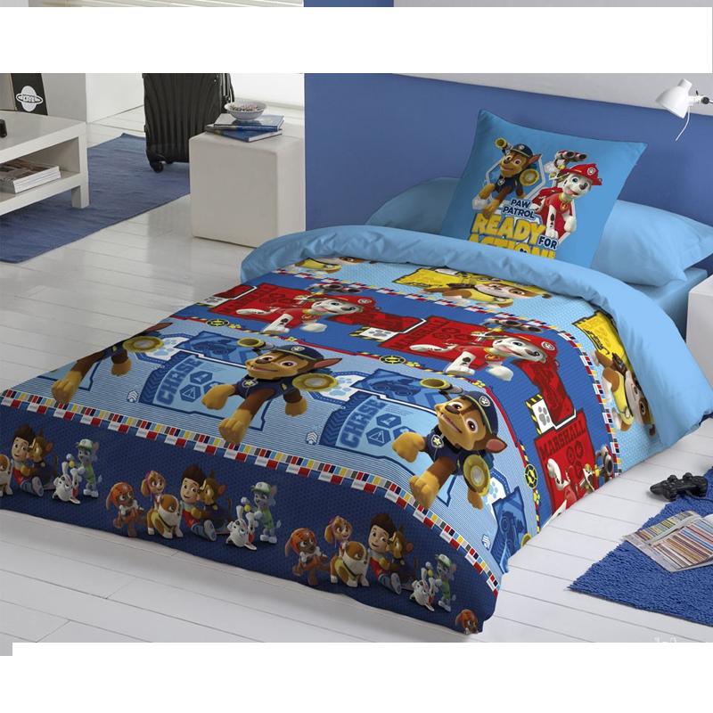 drap housse patrouille canine 90 cm forofos. Black Bedroom Furniture Sets. Home Design Ideas