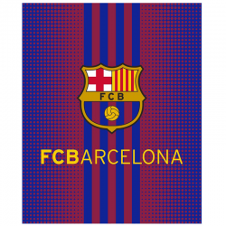 F.C Barcelona Blanket.