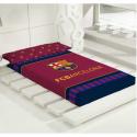 Manta de cama del F.C.Barcelona.
