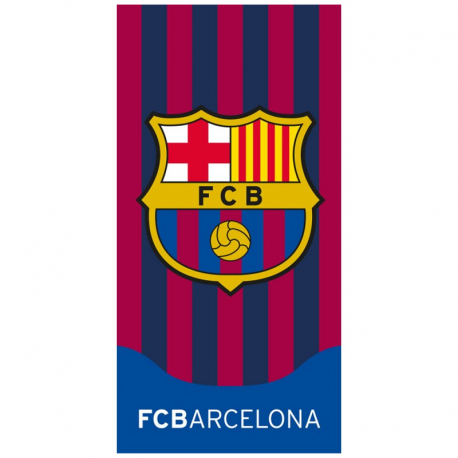 Toalla de playa del F.C.Barcelona.