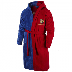 F.C.Barcelona Kids Bathrobe.