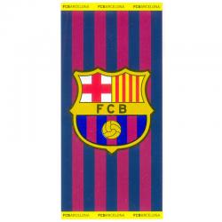 Drap de plage grand F.C.Barcelona.