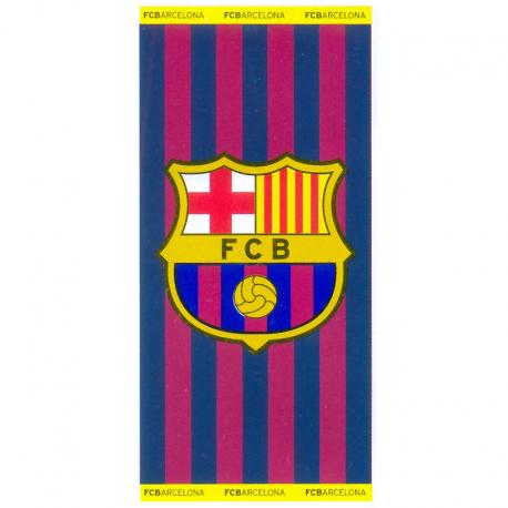 Toalla de playa grande del F.C.Barcelona.