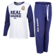 Pijama de adulto de manga larga del Real Madrid.