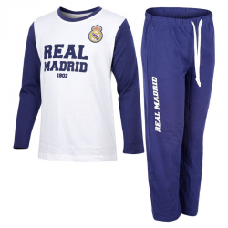 Pyjama adultes Real Madrid manches longues.