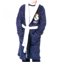 Real Madrid Kids dressing gown.