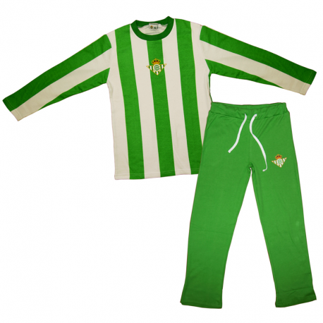 Real Betis Adult Pyjamas Long Sleeve.