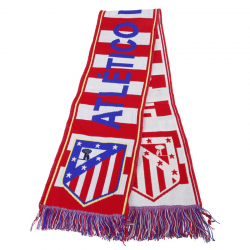 Atletico de Madrid Scarf loom.