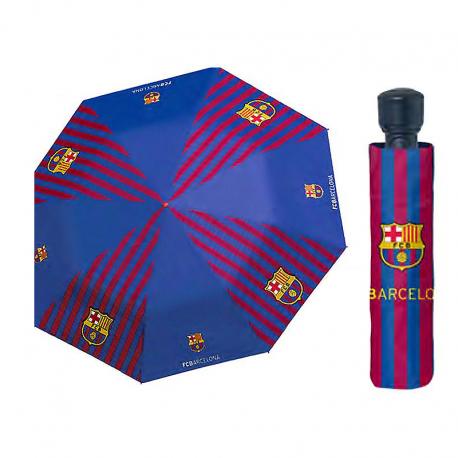 Paraguas plegable cadete del F.C.Barcelona.