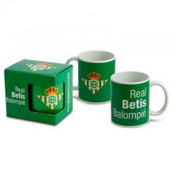 Real Betis Cup porcelain mug.