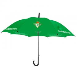 Paraguas cadete del Real Betis.