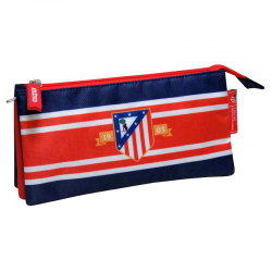 Trousse 3 compartiments Atlético de Madrid.
