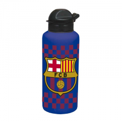 Botella metálica del F.C.Barcelona.
