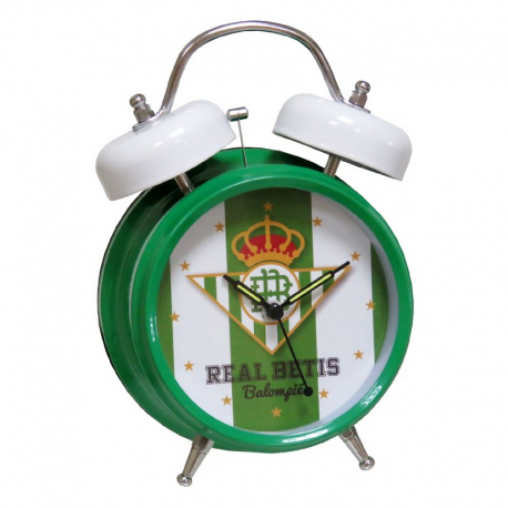 Real Betis Musical medium bell alarm clock.