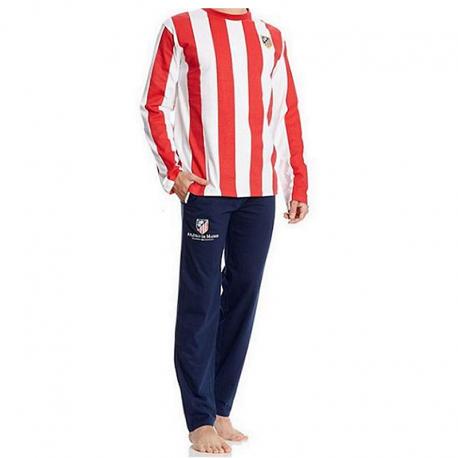 Pyjama adultes Atlético de Madrid manches longues.