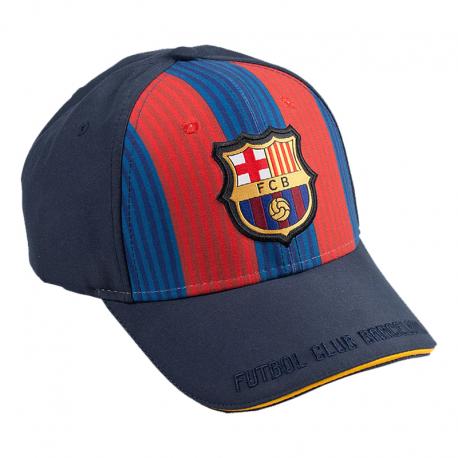 Gorra con visera del F.C.Barcelona.
