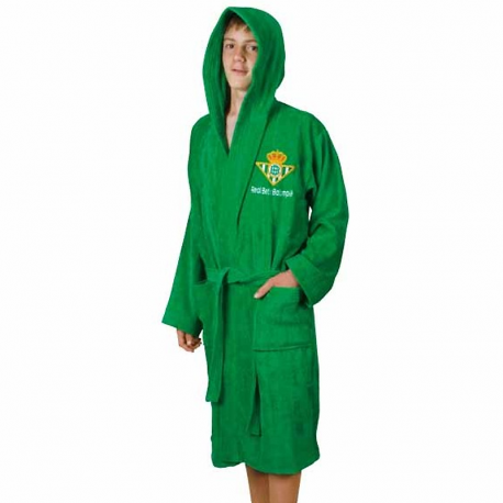 Real Betis Adult Bathrobe.