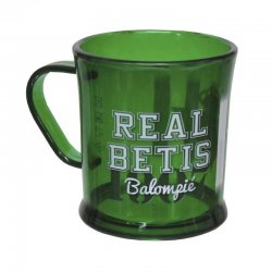 Real Betis Plastic cup.