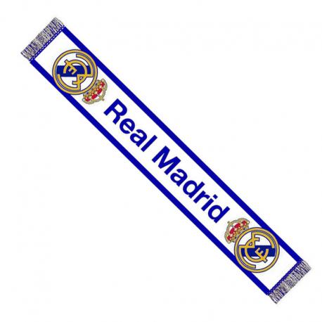 Bufanda telar del Real Madrid.