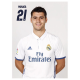Real Madrid Postal Morata.