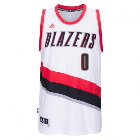 Portland Trail Blazers Lillard Away Jersey.