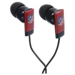 Auriculares de botón del Atlético de Madrid.