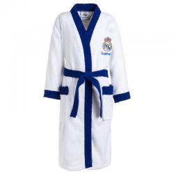 Real Madrid Adult Bathrobe.