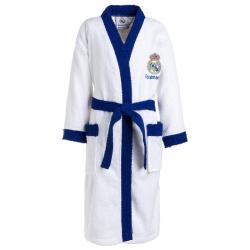 Albornoz para niño del Real Madrid.
