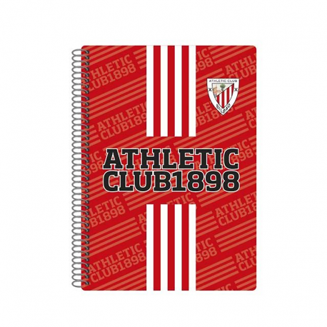 Athletic de Bilbao 4th Spiral notebook.