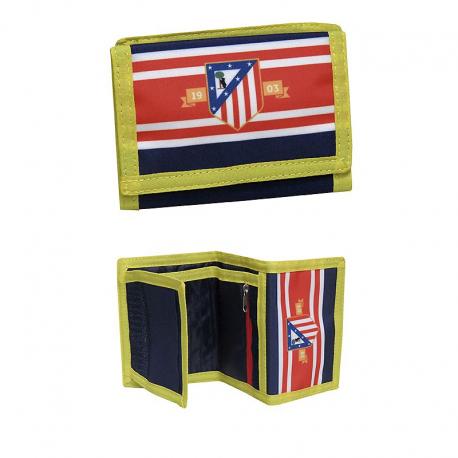 Cartera del Atlético de Madrid.