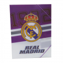 Carpeta de polipropileno del Real Madrid.