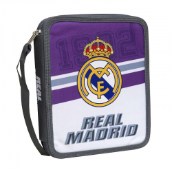 Plumier doble grande del Real Madrid.