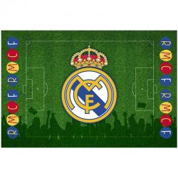 Alfombra del Real Madrid.
