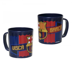 Mug en plastique F.C.Barcelona.