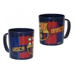 Taza de plástico del F.C.Barcelona.