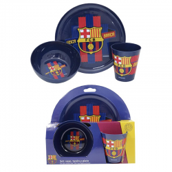 F.C.Barcelona Breakfast set.